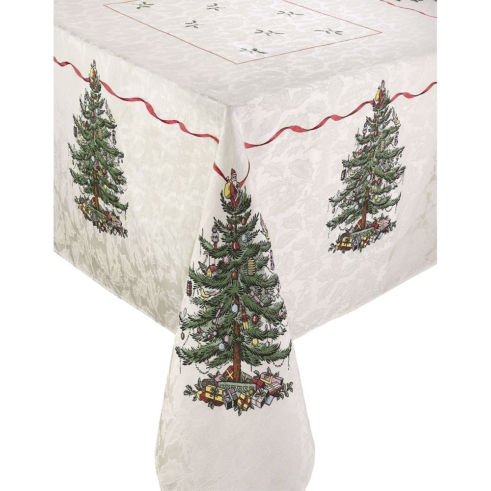 Pin D Oregon Couleur spode red tree 60x120 tablecloth