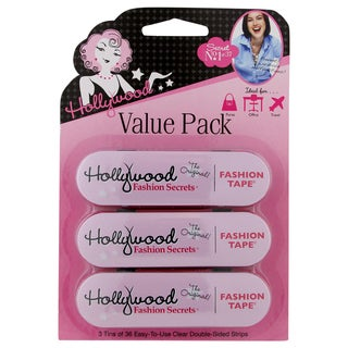 Hollywood Fashion Secrets Fashion Tape (Pack of 3)