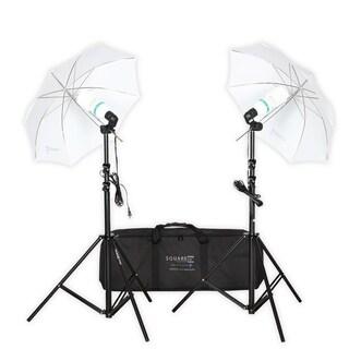 Square Perfect Premium Photo Studio Lighting Umbrella Stand with Light