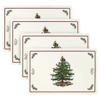 Spode Red Tree 4 Pack Placemats
