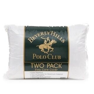 Beverly Hills Polo Club Metallic Twin Pack Fiber Pillow
