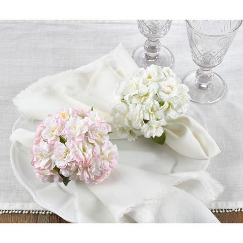 Cherry Blossom Table Napkin Rings (Set of 4)