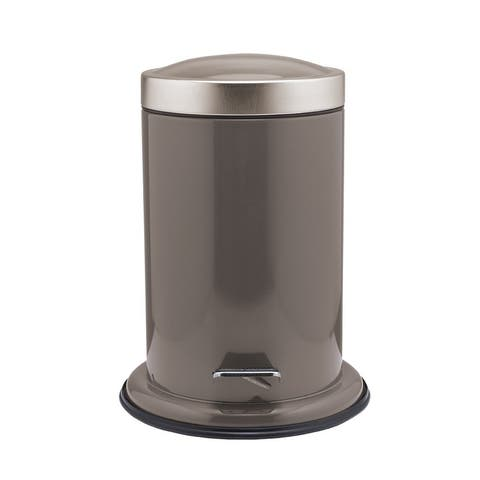 Sealskin Small Bathroom Step Trash Can Acero Taupe