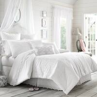 Five Queens Court Lola Eyelet Cotton 4 Piece Comforter Set