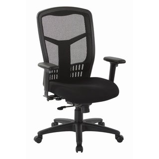 Pro-Line II ProGrid High Back Managers Chair with Adjustable Arms and Seat Slider.
