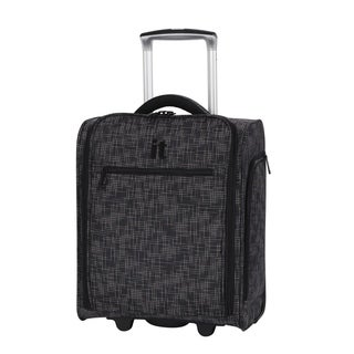 it luggage 17.1-inch Stitched Squares 2 Wheel Lightweight Underseat Tote