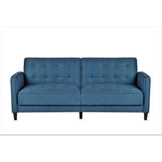 Link to Mid Century Garratt Velvet Upholstered Living Room Sofa Bed Similar Items in Sofas & Couches