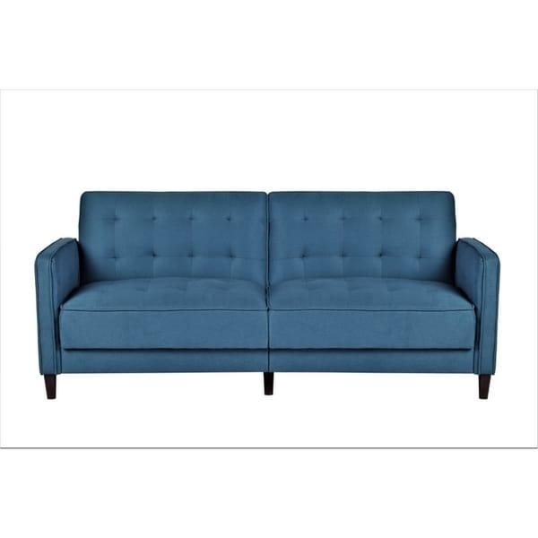 Mid Century Garratt Velvet Upholstered Living Room Sofa Bed. Opens flyout.