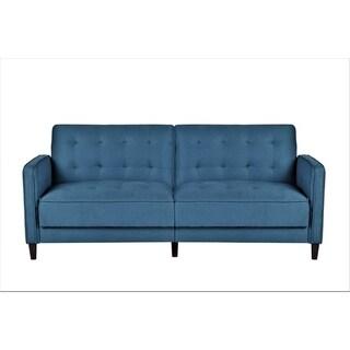Mid Century Garratt Velvet Upholstered Living Room Sofa Bed