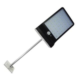 36 LED Solar Powered Motion Sensor Wall Hanging Lighting - Black