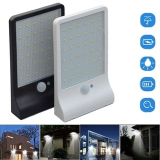 36 LED Solar Powered Motion Sensor Lamp Outdoor Waterproof Light Garden Security Wall Lamp