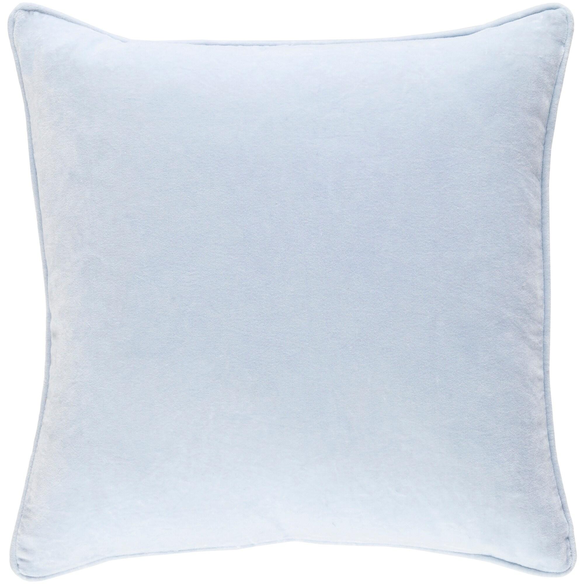 Decorative Vesey Light Blue 18 Inch