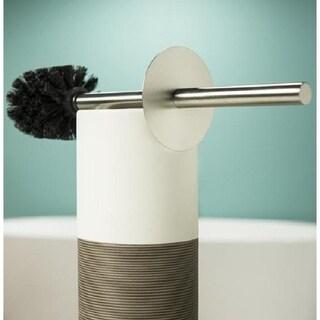 Sealskin Toilet Brush And Holder Doppio Brown