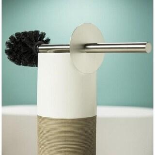 Sealskin Toilet Brush And Holder Doppio Beige
