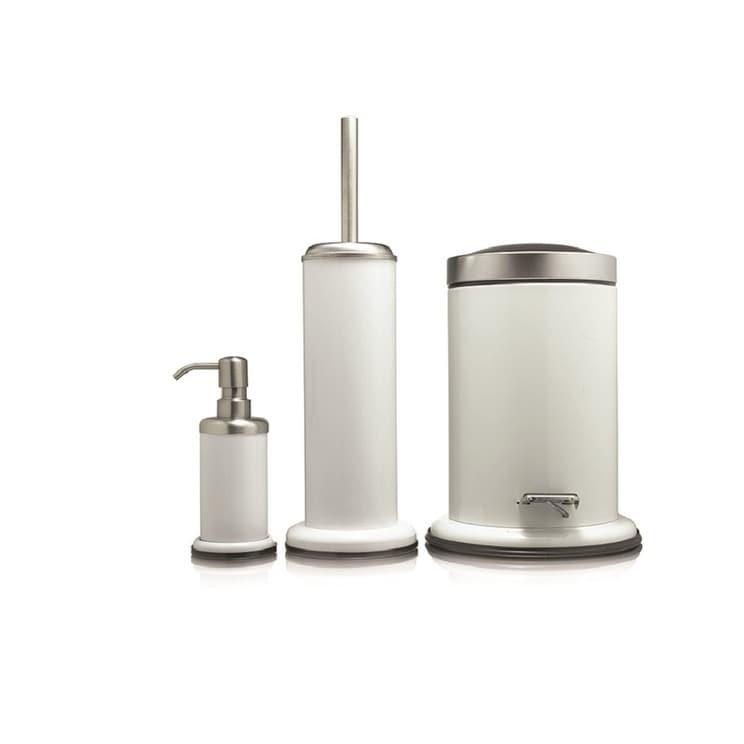 Sealskin 3 Piece Bathroom Accessories Set Acero White Overstock 23477404
