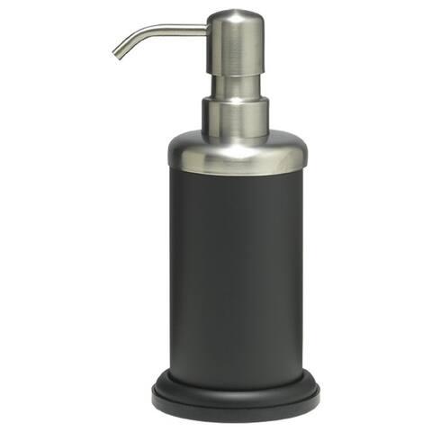 Sealskin Countertop Soap And Lotion Dispenser Acero Black