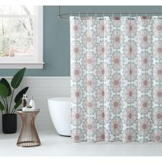 Peach & Oak - Tribal Medallion - Shower Curtain