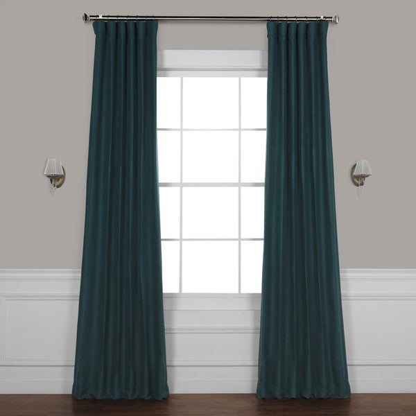 Exclusive Fabrics Bellino Blackout Curtain. Opens flyout.