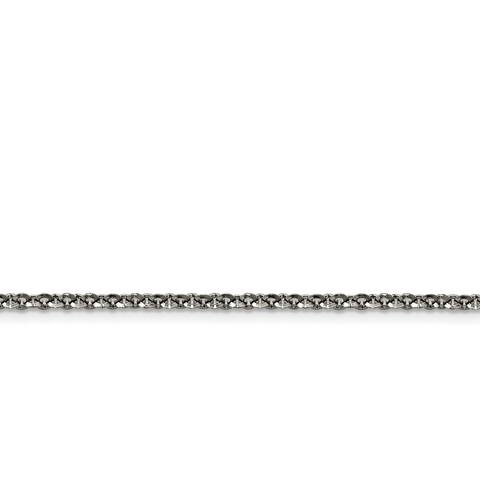 Chisel Stainless Steel Polished 3.20mm Rolo Chain