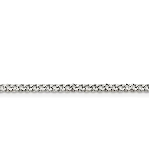 Chisel Stainless Steel 3.0mm Curb Chain