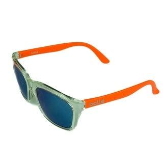 Bolle 527 Unisex Sunglasses Matte Crystal/Orange w/ TNS Gun - Clear
