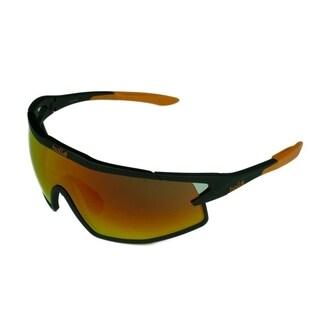 Bolle B-Rock Mens Sunglasses Matte Black w/ NXT TNS Fire Lens