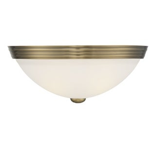 Metal 13-inch Ceiling Flush Mount