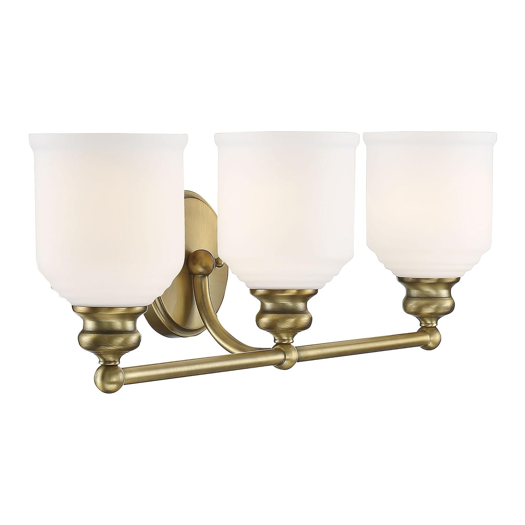 Melrose Warm Br Vanity Lighting