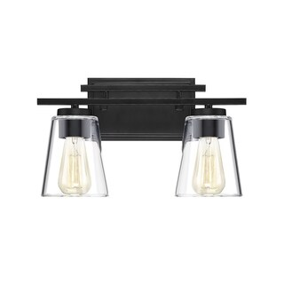 Calhoun English Bronze Vanity Lighting