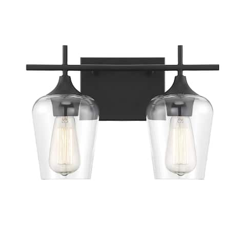 Octave Matte Black Vanity Lightinging