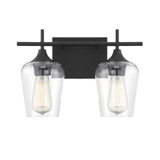 Link to Octave Matte Black Vanity Lightinging Similar Items in Bathroom Vanity Lights