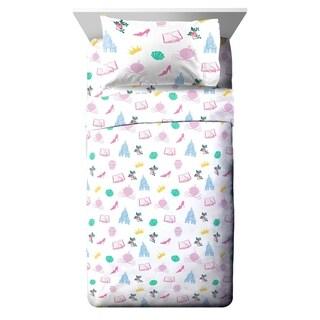 Disney Princess Sassy Twin Sheet Set