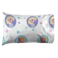 Disney Frozen Swirl Twin Sheet Set