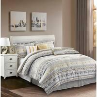 R2Zen™ Chloe Yellow 7-Piece Comforter Set