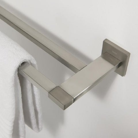 Tiger Towel Rack Double Items Brushed Stainless Steel