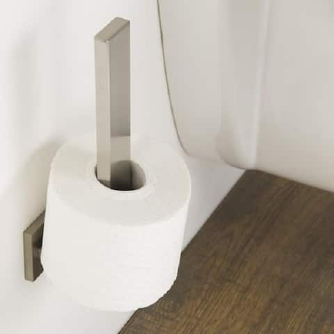 Tiger Spare Toilet Paper Roll Holder Items Brushed Stainless Steel - N/A