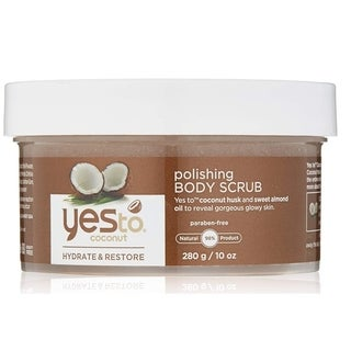 Yes To Coconut Hydrate & Restore 10-ounce Polishing Body Scrub