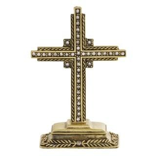 Jeweled Cross Table Décor