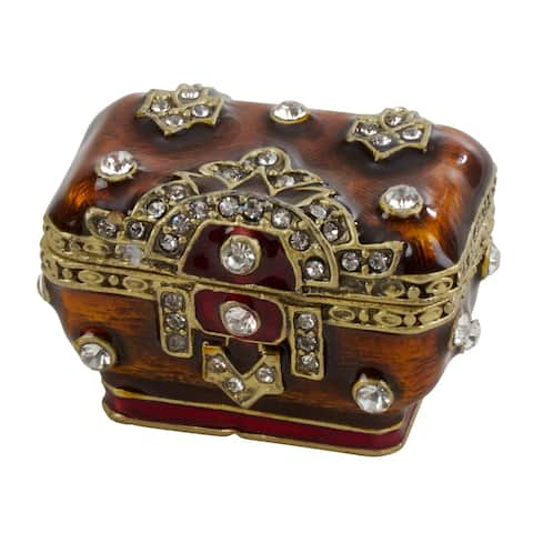 Jeweled Chest Small Ornamental Box