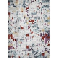 "Nova Modern Abstract Multi Area Rug by Home Dynamix - 7'10"" x 10'2"""