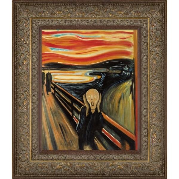 Shop Edvard Munch The Scream Hand Painted Oil
