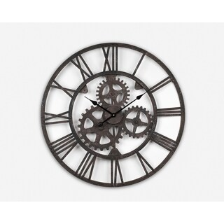 Wrought Iron Antique Wall Clock