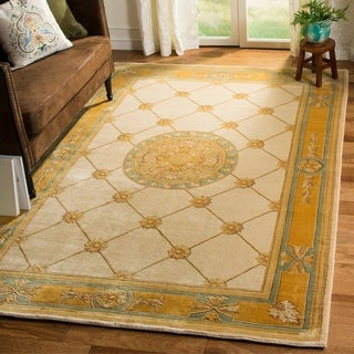 Safavieh Couture Hand-knotted Florence Lesli Traditional Oriental Wool Rug
