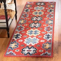 Safavieh Handmade Heritage Traditional Oriental - Red / Blue Wool Rug - 8' x 10'