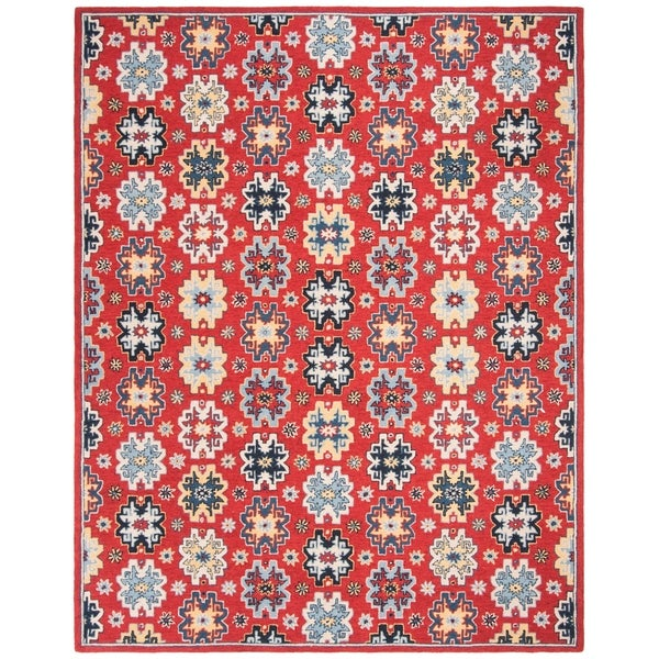 Safavieh Handmade Heritage Tiara Traditional Oriental Wool Rug