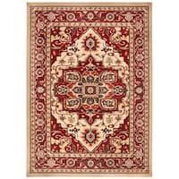 Safavieh Mahal Traditional Oriental - Creme / Red Rug - 9' x 12'
