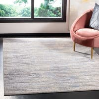 Safavieh Meadow Modern & Contemporary Abstract - Grey / Gold Rug - 8' x 10'