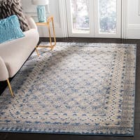 Safavieh Brentwood Traditional Oriental - Light Grey / Blue Rug - 2' x 8'