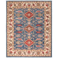 Safavieh Handmade Antiquity Traditional Oriental - Blue / Red Wool Rug - 8' x 10'
