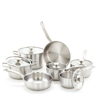 12 Pc. Stainless Steel Cookware Set